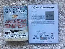 Chris Kyle American Sniper Signed Book PSA/DNA Authentic Autograph Navy Seal LOA