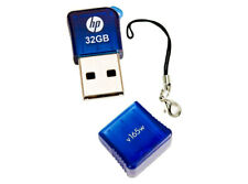 HP v165w 32GB USB 2.0 Flash Pen Drive - Blue New Retail Pack