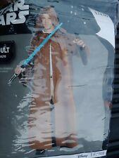 Disney Star Wars Jedi Robe Adult 1 Piece Costume Halloween Brown Jedi Robe