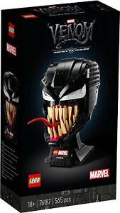 LEGO Marvel Venom Mask 76187