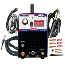 ITS-200 Saldatrice DC Inverter 200Amp Accessoriata TIG MMA 230V Welding Machine
