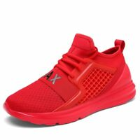Breathable Running Shoes For Man Black White Sport Shoes Men Sneakers Air Mesh