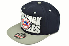 AMERICAN NEEDLE X MLB BIG BLOCK SNAPBACK NEW YORK NY YANKEES AUTHENTIC IMPORTED