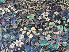 Faria Flowers C 1.00 Metre of This Print by Liberty on Tana Lawn Cotton