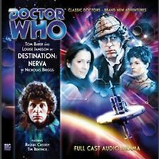 DOCTOR WHO Big Finish Audio CD Tom Baker 4th Doctor #1.1 DESTINATION NERVA - NEW