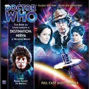 DOCTOR WHO Big Finish Audio CD Tom Baker 4th Doctor #1.1 DESTINATION NERVA - NEW