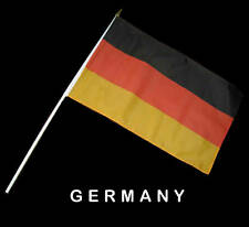 GERMAN GERMANY Hand Waver Flag - 30x45cm