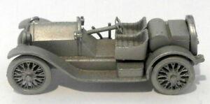 Danbury Mint Pewter - approx 1/43 scale - 1914 Stutz Bearcat