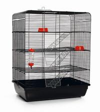 Ratten- & Hamsterheim - Kleintierkäfig REMY inkl. kompletter Ausstattung *NEU*