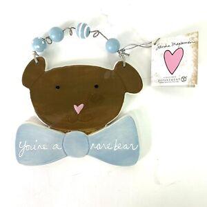 Dept 56 Sandra Magsamen Baby Gift Decor You're a rare bear Plaque Wall Hanging