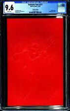 FANTASTIC FOUR #371 (1992 Marvel) CGC 9.6 NM+ 2ND PRINT RED EMBOSSED CVR