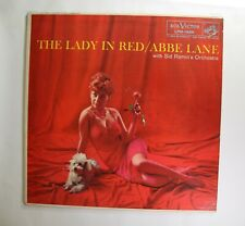 "Abbe Lane RCA VICTOR LMP-1688 MONO M-/M- ""The Lady In Red"" LP"