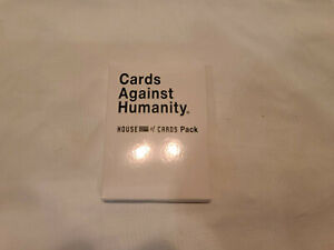 Cards Against Humanity HOUSE OF CARDS Expansion Pack - NEW
