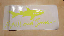 vintage maui and sons ellesse adidas sticker adesivo anni 80 deadstock tennis