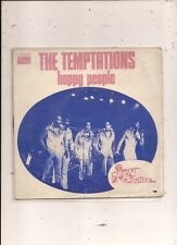 FRENCH 45 T THE TEMPTATIONS  HAPPY PEOPLE