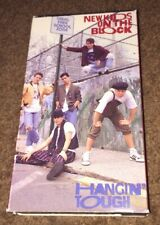 New Kids on The Block Hanging Tough VHS
