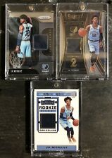 2019-20 Ja Morant Game Used Jersey Basketball Cards