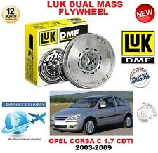 FOR OPEL CORSA C 1.7 CDTi 100 bhp 2003-2009 ORIGINAL LUK DMF DUAL MASS FLYWHEEL