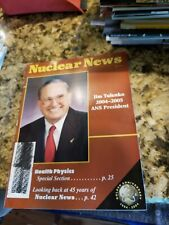 Nuclear News Magazine July 2004 Classic Edition