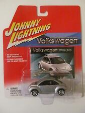 Johnny Lightning - Volkswagen 1998 New Beetle - Silver - Sealed - Light Wear