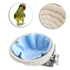 Bird Nest Breeding Cotton Rope House Home Weave Canary Finch Budgie Handmade New