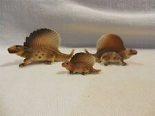 New ListingVintage Japan Bone China Miniature Dinosaur Dimetrodon Family Figurines Set of 3