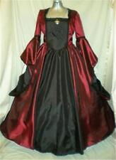"Tudor Renaissance Madrigal Boleyn Dress Gown, Your Size Choice Busts 34""- 46"""