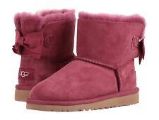 Ugg Australia Kandice Seude Bow Girls Boots  Youth size 4 Woman's 6