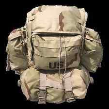 New US Military Issue Mainpack Rucksack MOLLE II Desert Camo
