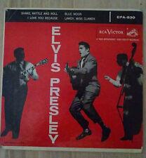 ELVIS PRESLEY-Rare Ep 45+Sleeve Label-RCA VICTOR #EPA-830