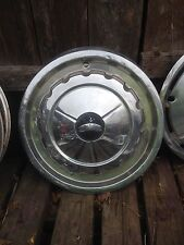 Vintage  Chrome Hub Cap Rat Rod Man Garage Wall art