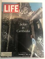 Life Magazine First Lady Jackie Kennedy in Cambodia November 17, 1967