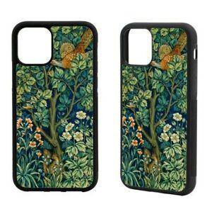 William Morris Pheasant iPhone Rubber Case 12 Mini,SE 2020,11Pro Max,XR,7/8+