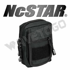 VISM NcSTAR Tactical Accessory MOLLE PALS Small Utility Storage Tool Pouch Black