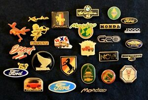 Ford Renault Pontiac Plymouth Honda Chevy BMW More Hat Lapel Pin Accessory 25+