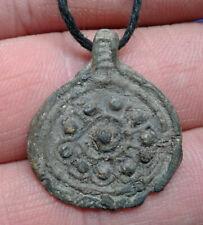 Celtic Lead Amulet Pendant.