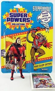 DC Super Powers - Kenner - Steppenwolf (mint with cardback)