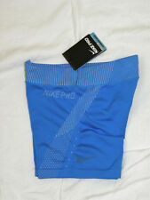 "womens NIKE Pro Hypercool Limitless 3"" blue training shorts size S NEW nwt $60"