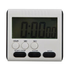 Magnetic LCD Digital Kitchen Cooking Large Timer Loud Alarm Count-Down Up Clock