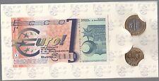 Euro (prototipo)  del 1997/98 Fiesole e  Pontassieve 50 cent. 1 euro e 3 EURO