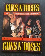 More details for guns n' roses book by paul elliott 1990