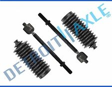 4pc Front Inner Tie Rod Ends & Boot Set for 1995 - 2004 Toyota Tacoma 2WD