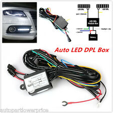 12V DRL Daytime Running Light Relay Harness Car Controller Auto On/Off Switch