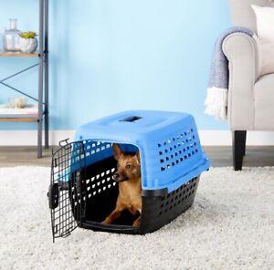Petmate 2 Door Kennel 10-20lbs/4.5-9kg/24in. x 17in. x 15in./61cm x 42cm x 37cm