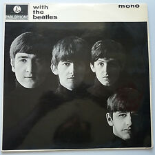 The Beatles - With the Beatles Vinyl LP UK 1st Mono 1N/1N Gotta Misprint EX+/EX+