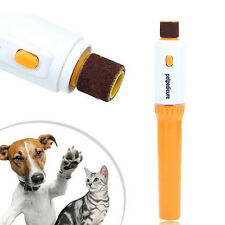 Electric-Dog-Cat Puppy-Pet Nail Paw-Pedicure-Clipper-Grinder-Trimmer-File Kit SY