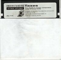 "ITHistory (1994) Apple Software: ""Understanding Taxes"" Software Supplement"