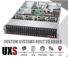 2U 24 Bay Storage Server X10DRU-i+ 2x Xeon E5-2680 v3 12 Core 4x NVMe Slot 64GB