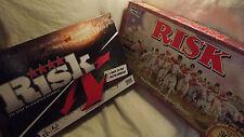 Parker Risk Board Games Retro & Modern ( 2 Games ) Both Complete Fast Postage