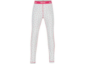 Marmot-girls base layer tights-disco pink midweight- Size L- New+tag